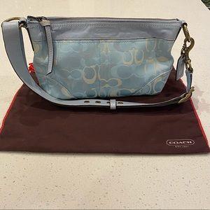 Couch Powder Blue Shoulder Bag
